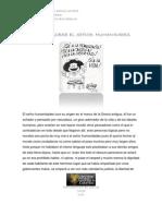 Cuento Sobre Humanidades Laura Arias