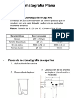 Cromatografía Plana