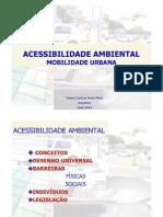 1 Acessibilidade AMbiental Mobilidade Urbana