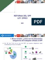 Charlas Sobre La Reforma Del SPP