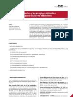 Imprimir Insht-fdn Guantes y Manoplas Aislantes Trabajos Electricos