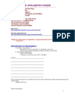 Apologetics Text Notes Course Rtf