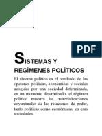 Sistemas y Regimenes Políticos