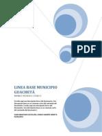 Linea Base Municipio Guacheta