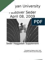 2009 Haggadah Supplement