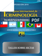 Taller.sectas PDI