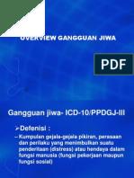 Jenis Gangguan Jiwa (Dr. Syahrial)