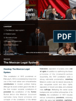 The Mexican Legal System
