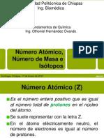 Numero Atomico, Numero de Masa e Isotopos