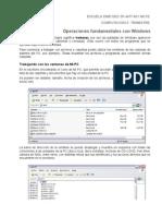 Entorno Windows - Procesador de Textos