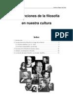 Las funciones de la Filosofía en nuestra cultura