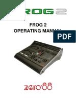 Zero88 Frog2 User Manual
