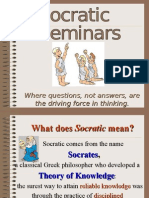 Socratic Directions