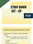 Function Room Setup Training