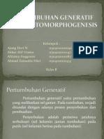 Pertumbuhan Generatif dan Photomorphogenesis