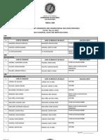2013 Candidates in Tudela, Cebu