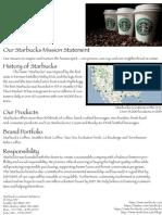 Starbucks Fact Sheet Final
