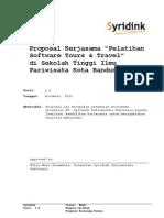 Proposal Pelatihan Software