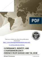 Governance, Identity, And Counterinsurgency