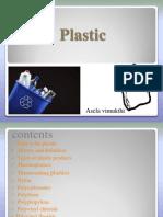 Plastic Presentation...