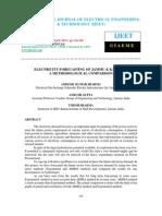 Electricity Forecasting of Jammu & Kashmir a Methodological Comparison