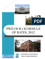PWD (W.B.) SCHEDULE