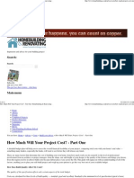 How Much Will Your Project Cost_ - Part One