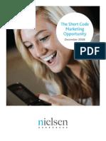 The Short Code Marketing Opportunity, December 2008