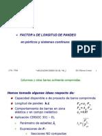 Factor de Pandeo Columnas