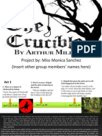 the crucible timeline sample