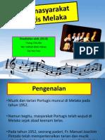 Muzik Masyarakat Portugis Melaka