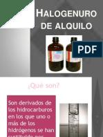 Halogenuro de Alquilo