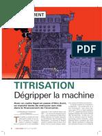 Agefi Hebdo 184 Titrisation Degripper La Machine