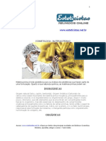 COSMETOLOGIA - MATÉRIAS PRIMAS