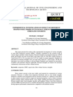 Experimental Investigation on Effect of Different Shaped Steel Fibers on Flexural