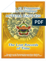 Actual Fact 20 - The Lost Records of Time