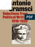 Antonio Gramsci - Selections From Political Writings, 1910-1920
