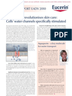 Eucerin - Nobel Prize revolutionises skin care - Cells' water channels specifically stimulated