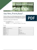 Class Kata Priority Queue