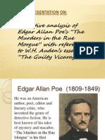 Narrative analysis of Edgar Allan Poe's stories