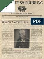 SA-Standarte Feldherrnhalle Nachrichtenblatt 1944 6