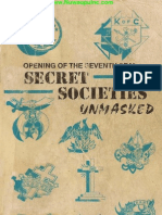 Secret Societies Unmasked (Original)
