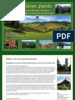Wandern im Schwarzwald um und ab Oberharmersbach - Bären Hotels