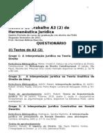 Roteiro Do Trabalho Grupo A3 [2] Hermeneutica 2011