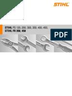 FS120-FS200-FS300-FS350-FS400-FS450-FR350-FR450 Service Manual