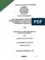08_0258_M Mantenimiento e Inspeccion Del Equipo Mecanico Hidraulico Usado en Construccion Mantenimiento de Lineas de Transmision de Distribucion de Energia Electrica