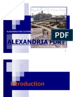 ALEXandria pORT  analysis