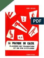 Mathématiques Classiques La Pratique du Calcul 04 Certificats d'Etude Bréjaud Henri