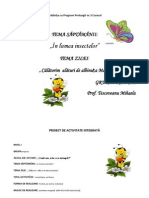 0 Proiect Didactic Insecte