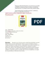 METODOLOGIA CERCETARII CLINICE.